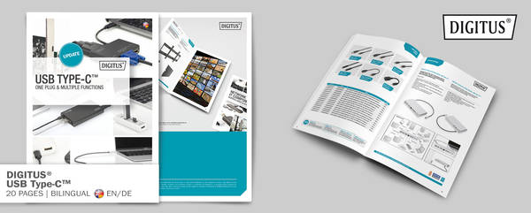 Type-C brochure promotion banner