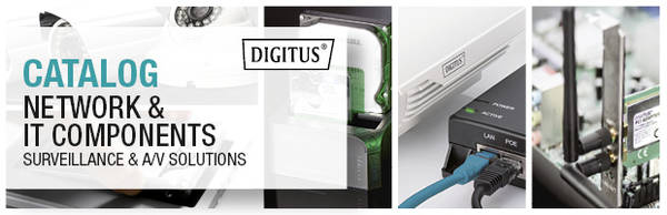 DIGITUS Catalog | Network & IT Components | Surveillance & A/V Solutions